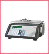 weighing machine with printer